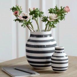 Kähler - Grå vase - Stor