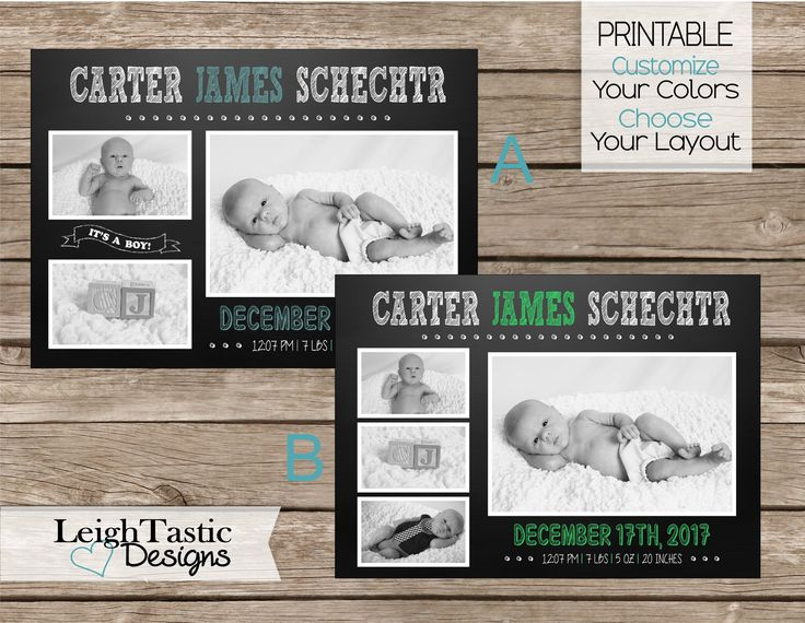 Best 25 Chalkboard baby announcements ideas – Etsy Baby Announcements