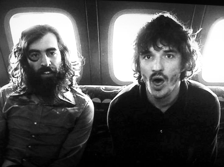 Richard Manuel & Rick Danko of The Band