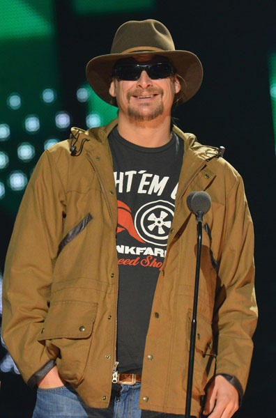 Kid Rock on stage at the 2012 CMT Artists of the Year. Join us for the show TOMORROW (Sat) at 10/9c: http://www.cmt.com/artists-of-the-year/ #CMTAOTY