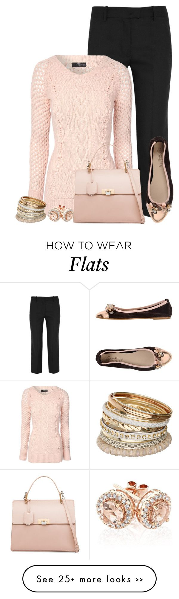 """Beaded Flats"" by terry-tlc on Polyvore"