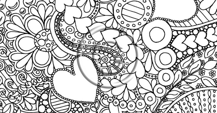 Abstract Butterfly Coloring Pages Fullxfull