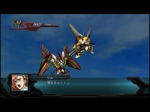 SRW OG 2nd ブランシュネージュ All Attacks - YouTube