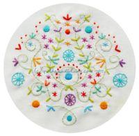 Summer Garden Embroidery Pattern PDF