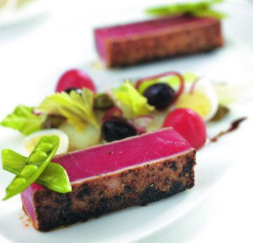 Michelin Star Vs Rosette #Design on a plate.