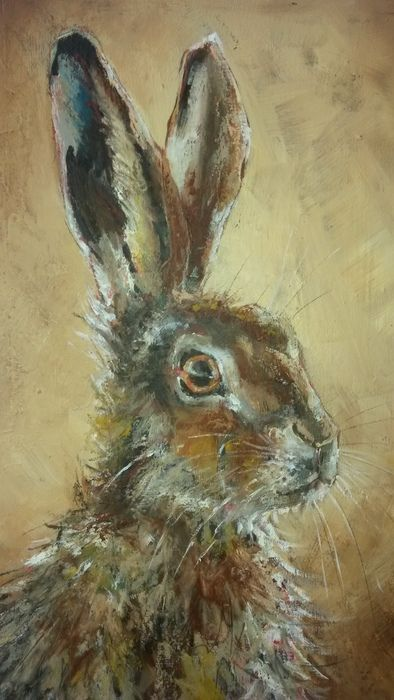 Local Artist Holds Charity Auction To Help Bunnies  >> 4676 Best Lapin Bunny Hare Images On Pinterest Bunnies