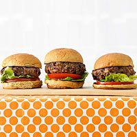 Mini Beef and Bulgur Burgers: Turkey Burgers, Minis Beef, Burger Recipes, Bulgur Burgers, Whole Grains, Beef Burgers, Burgers Recipes, Sliders Recipes, Parents Magazines