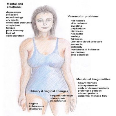 womens menopause symptoms