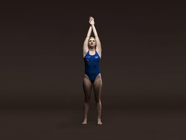 Olympic Bodies: British Olympic Athletes Rebecca Adlington
