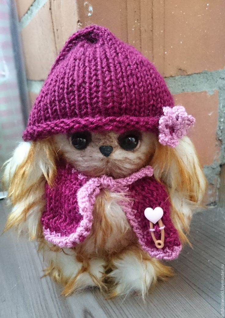 Купить Тедди малышка Потеряшка, авторский тедди - рыжий, тедди в подарок, тедди медведи, теддик