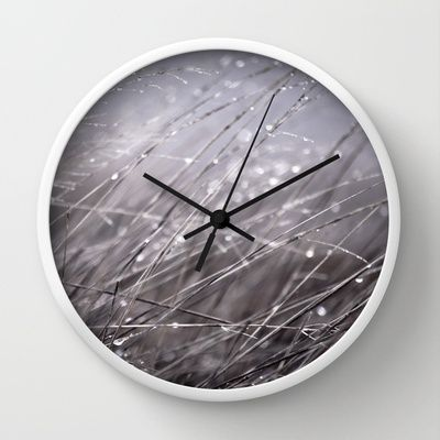 sweet tears Wall Clock by MrEMOCIONES - $30.00