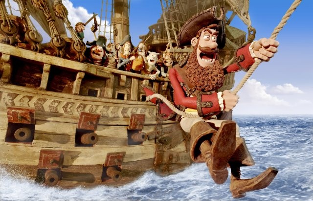 HE PIRATES! BAND OF MISFITS!  See the film in theatres March 30, 2012.