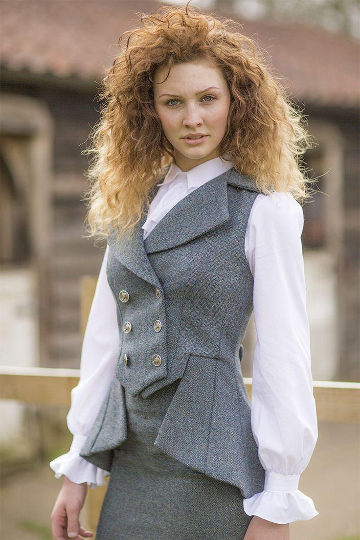 Lady Mary Waistcoat (Nevis Tweed) – Great Scot (Scotland) Ltd