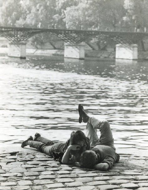 Ile du Vert-Galant, face au pont des Arts, 1972, Izis.