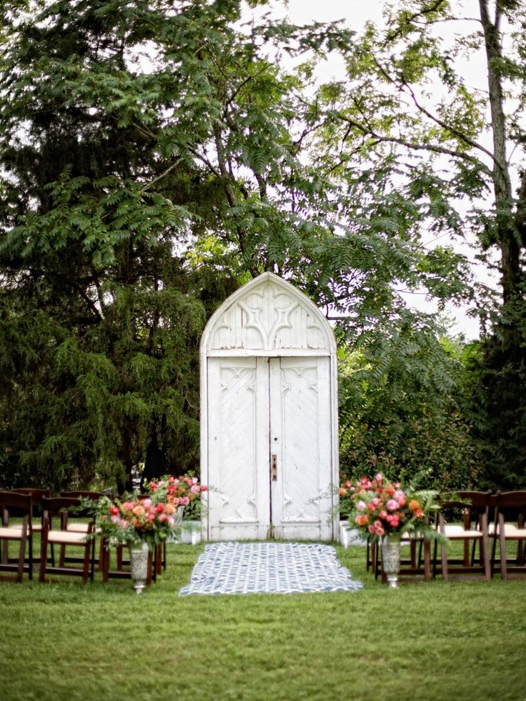 Best 25 Outdoor Wedding Altars Ideas On Pinterest