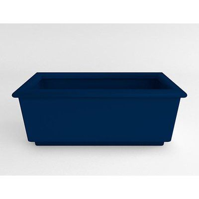 TerraCastProducts Roma Resin Planter Box Color: Blue
