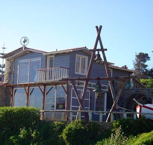 Pablo Neruda house in Isla Negra. Chile