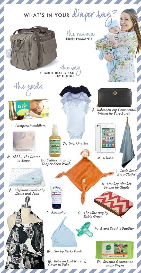Diaper Bag Essentials of Eden Passante