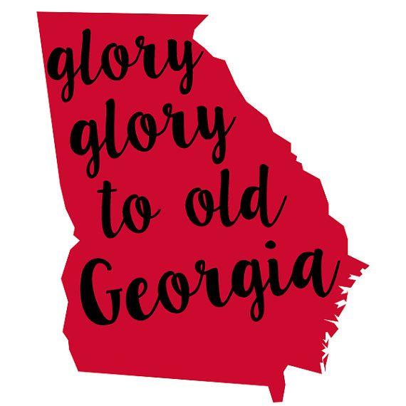 Glory Glory Go Dawgs
