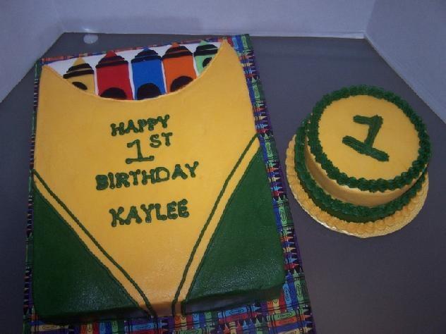First Birthday Cake Themes