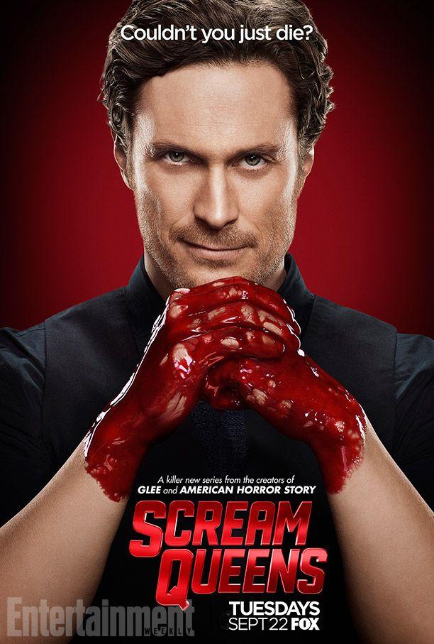 Scream Queens season 1 character posters feature Nick Jonas, Lea Michele, more   EW.com