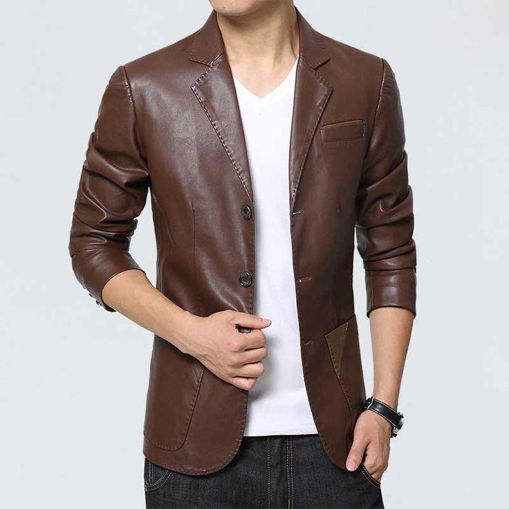 Buy Mens Leather Blazers