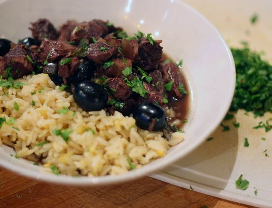 Book Week: Lamb, Olive and Caramelized Onion Tagine; Blackberry and ...