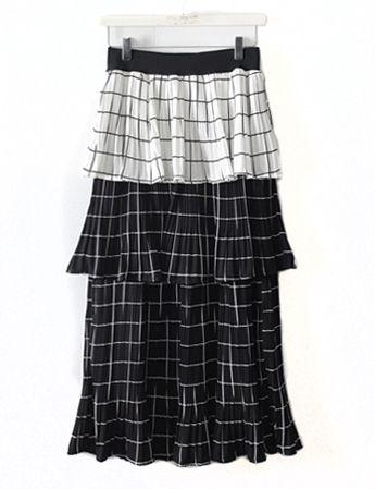 플리츠캉캉,skirt