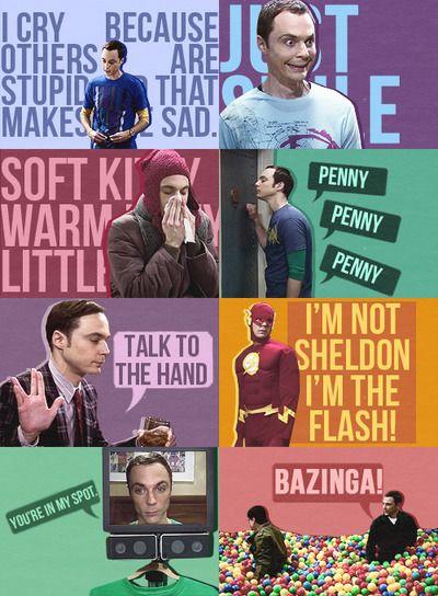 Sheldon. I love him. Big Bang Theory