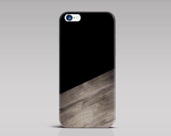 IPhone noir 6 s cas hommes iPhone 6 s plus cas cas par iDedeCase