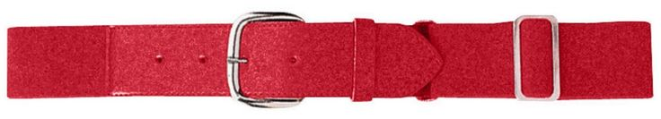 Youth Elastic Baseball Belt, Color: Red, Size: One Size. Youth Elastic Baseball Belt, Color: Red, Size: One Size.