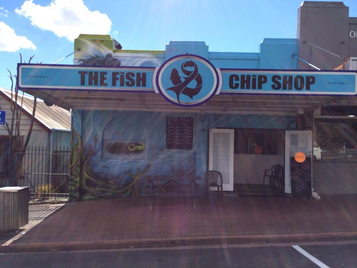 Fish & Chip Shop, Ohinemutu