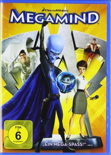 Megamind * IMDb Rating: 7,3 (95.423) * 2010 USA * Darsteller: Will Ferrell, Brad Pitt, Tina Fey,
