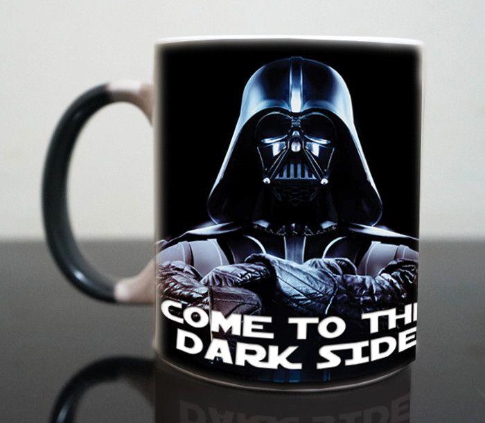 "Star wars Mugs Darth Vader ""Come Into The Dark Side"" //Price: $21.49 & FREE Shipping //     #starwarsfan  #starwarsdaily  #StarWarsBlackSeries  #starwarscollection"