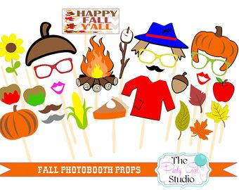 fall photo booth props – Etsy                                                                                                                                                     More