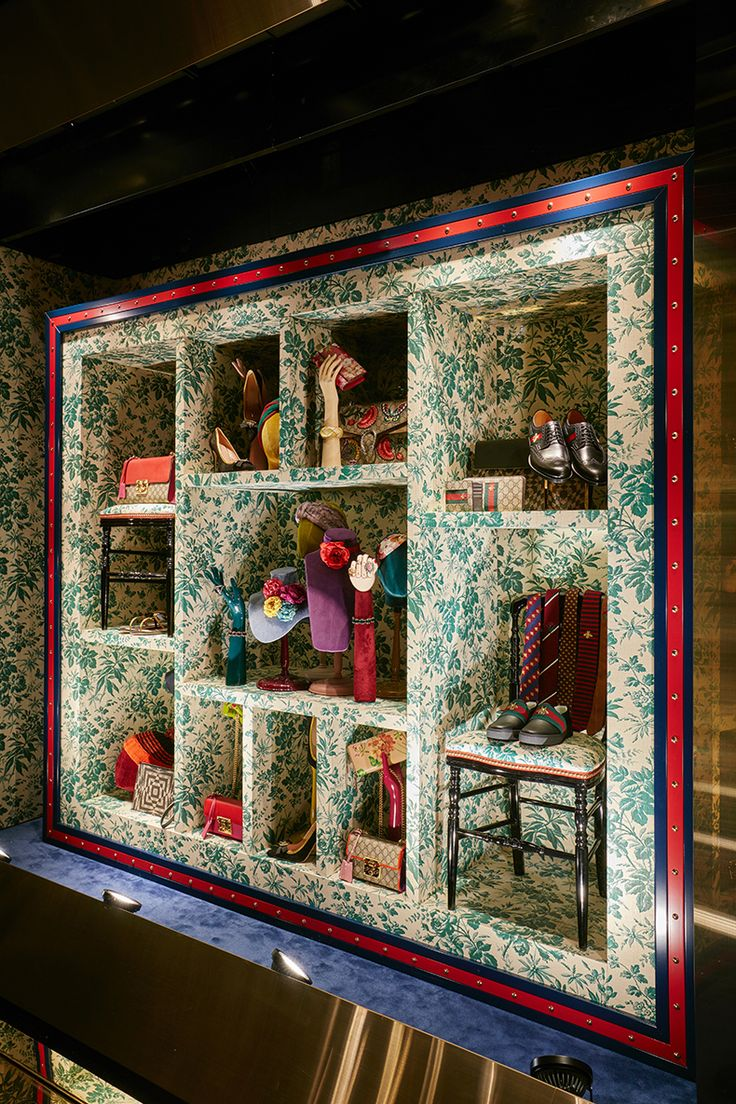 """GUCCI, """"We are proud to present our interpretation of Alessandro Michele's Gucci Collection for the Holiday Season"""", creative by Chameleon, pinned by Ton van der Veer"""