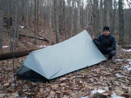 Mini Tent made from silnylon and it setup using hiking poles. The tent weighs only oz. & 7 best MYOG images on Pinterest | Backpacking gear Outdoor gear ...