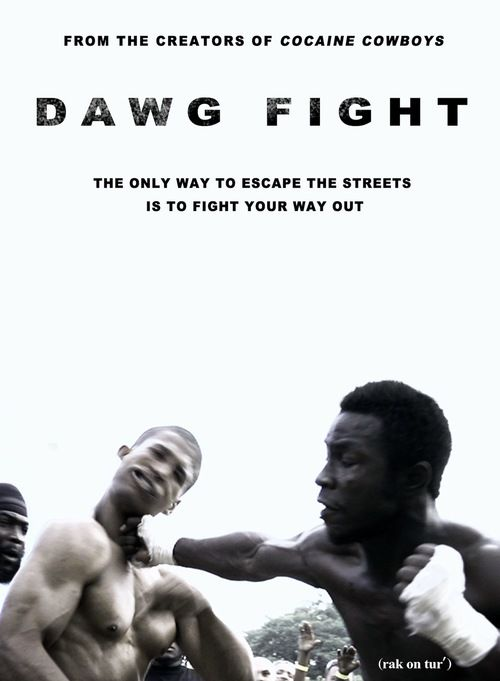 "Dawg Fight - Documentary (2015)  West Perrine, Florida is a suburban ghetto in Southwest Miami-Dade County. Over 73% of its residents are African-American and more than a third of them are unemployed. Violent crimes occur on a daily basis in this neighborhood of less than two square miles, where much of its adult male population winds up dead or in prison before their 30th birthday.  But there is hope in the hood... Dhafir ""Dada 5000"" Harris (6'3"", 270lbs., bench presses 670lbs) grew up…"