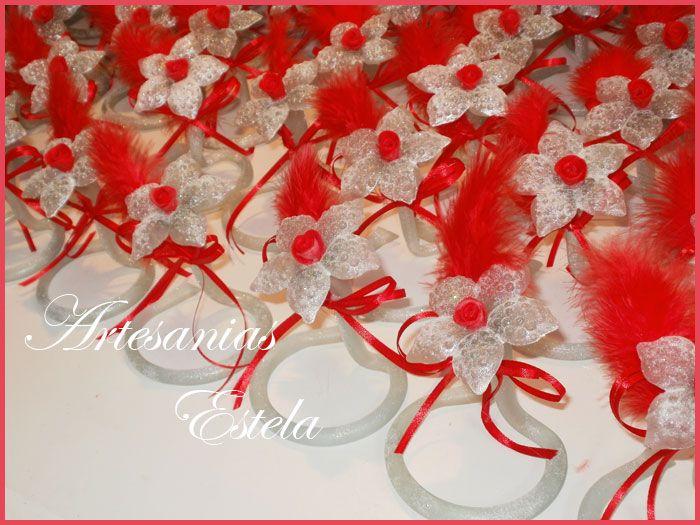 Souvenirs 15 Años - Flores De Vidrio