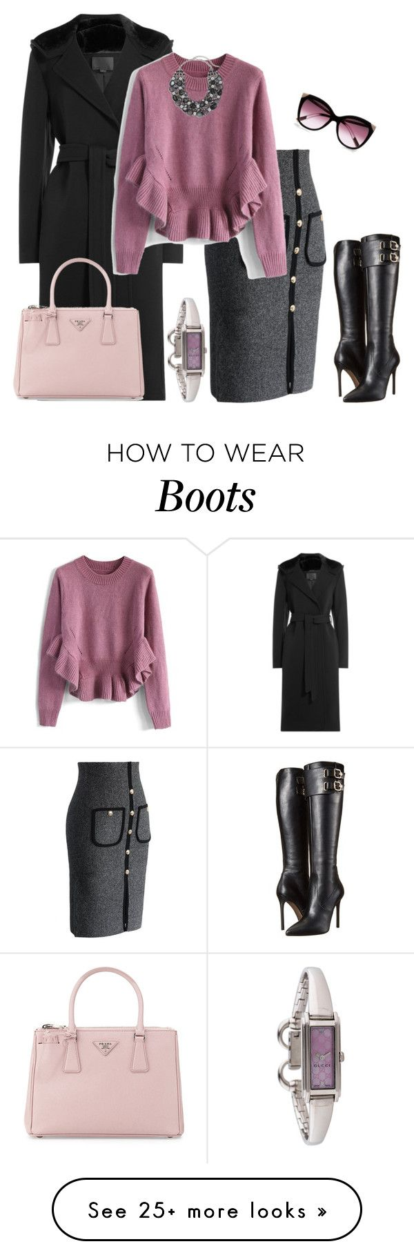 """outfit 3096"" by natalyag on Polyvore featuring Alexander Wang, Chicwish…"