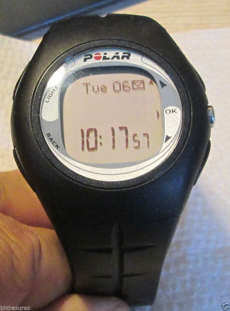 Polar Electro CE0537 Heart Rate Monitor Watch #Polar
