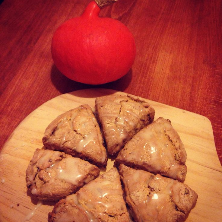 Pumpkin and apricot scones!!
