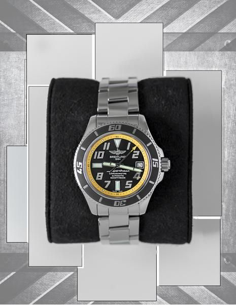 A Closer Look : Our Pre-Owned Watches for sale – WatchObsession #breitling #superocean #abyss #5000ft #yellow #breitling24 #1884 #breitlingsuperocean #rolex #submariner #116610LV #2017 #hulk #green #rolexing #rolexwatch #rolex24 #monta #oceanking #montasquad #monta24 #montaoceanking