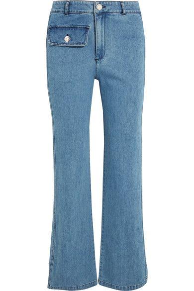See by Chloé - High-rise Straight-leg Jeans - Mid denim - 24