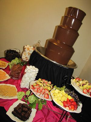 Chocolate Fountain Party Ideas Pinterest Chocolate Fountains