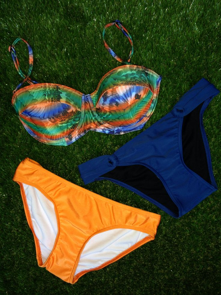 Celebrate 30 Days of Triple Treats inspired by beautiful customers! Enter code word TRIPLE at point of purchase for 30% OFF 3 items or more + FREE SHIPPING! Featured here: Goldfish Rio D-Cup Bandeau Bra, Malibu Loop Brief & Heaven Fashion Plains Brief - $84 for all 3 items + Free Shipping! SHOP HERE: http://www.swimheaven.com.au/tropical/d-cup-tops/goldfish-rio-bra-style-top.html