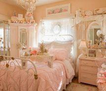 #shabby #pink #bedroom