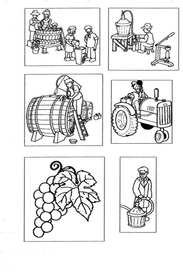 imprescj e machinaris par fâ il vin (schede A)