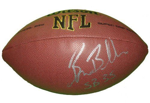 """Baltimore Ravens Brian Billick Autographed NFL Wilson Composite Football Featuring """"SB 35"""" Inscription, Proof Photo by Southwestconnection-Memorabilia. $89.99. This is a Brian Billick autographed NFL Wilson composite football with """"SB 35"""" inscription! Brian has signed the football in silver paint pen for us. Check out the photo of Brian signing for us. Proof photo is included for free with purchase. Please click on images to enlarge."""