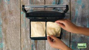 Geen grap, met je tosti-ijzer maak je de lekkerste appelflap. Super (makkelijk) als dessert.